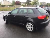 Audi A3 2ltr tdi 140bhp sport 06reg 1 year mot no advisory fsh