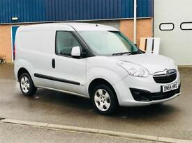 VAUXHALL COMBO 1.3 CDTI SPORTIVE 2015(64)REG**METALLIC SILVER**AIR CON**EX COMPANY OWNED