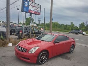 2006 Infiniti G35 Coupe Toit,Cuir