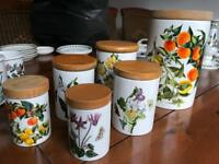 Portmeirion Ceramic Storage Jars