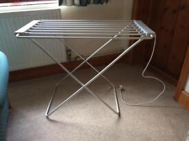 Heated airer - collect from Nottington