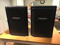Pair of Peavey HiSys 2XT speakers