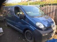 Vauxhall vivaro spares/repair/scrap