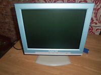 nice packard bell TFT monitor works well just not needed anymore built in usb hub 4 port