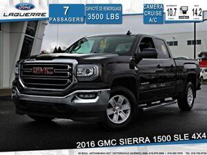 2016 GMC Sierra 1500 SLE**4X4*6 PLACES*BLUETOOTH*CAMERA*A/C**