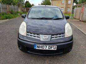 2007 Nissan Note 1.4 16v S 5dr Manual @07445775115