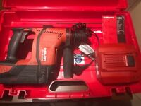 Hilti TE30A 36v Cordless Hammer Drill with 6.0 Battery & Case