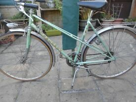 peugeot ladies mixte road bike vintage l'eroica