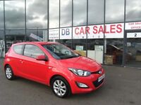 2014 14 HYUNDAI I20 1.2 ACTIVE 3D 84 BHP **** GUARANTEED FINANCE **** PART EX WELCOME