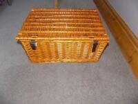 Wicker Storage or Hamper Baskets