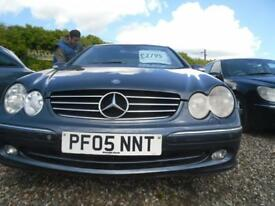 MERCEDES-BENZ CLK 270 CDi Avantgarde 2dr Auto MOT DECEMBER 2018. A NICE LOOKING MERC.. (blue) 2005