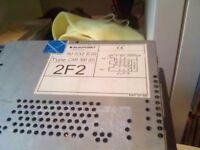 Radio/cassette player for zaffira 2003