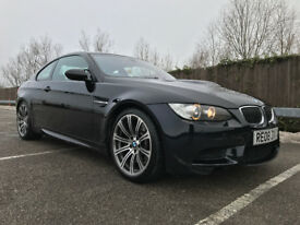 2008/08 E92 BMW M3 COUPE 4.0i MV8 420 BHP MANUAL JEREZ BLACK, M5 M6 M4 RS6, PX SWAP WHY