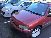 Peugeot 106 1999 12 months MOT New CamBelt New Clutch £650