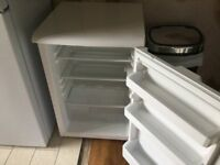 Beko fridge 550mm wide white