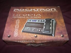 Rocktron Utopia G100 Guitar Multi Effects Pedal.