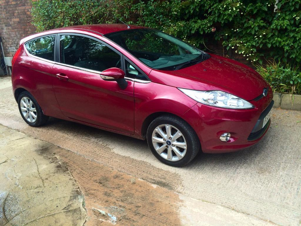 ford fiesta zetec 58 plate in 39 hot magenta 39 lovely ladies car in swinton manchester gumtree. Black Bedroom Furniture Sets. Home Design Ideas