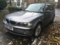2003 BMW 320 Touring estate (spares or repair)