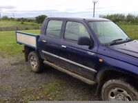 TOYOTA HILUX 2.4 DIESEL 4X4 D/CAB ONLY 90,000 MILES .IDEAL EXPORT OR OFF ROADER