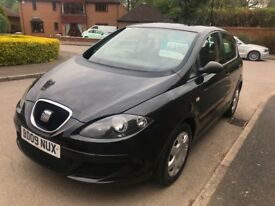 09 SEAT Altea 1.6 Reference 5dr 12 Months MOT HPi Clear 6 Months Warranty & AA Incl Warranted Miles
