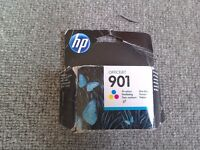 Hp 901 coloured in cartridge