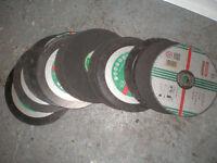 "Cutting Discs NEW X 21 Stone 9"""