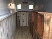 Vintage / rustic / horse box conversion / festival / Coffee / retail Stall