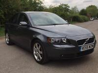 VOLVO S40 1.8 PETROL MANUAL ** FULL BLACK LEATHER ** PARKING SENSORS **