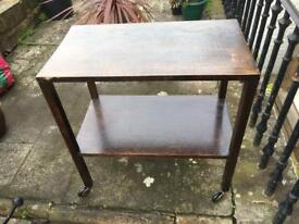 Antique Hostess Trolley