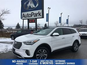 2017 Hyundai Santa Fe XL Luxury | Heated Leather | Panoramic Sun