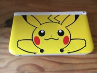 Pikachu Nintendo 3DS XL and Pokemon Y game
