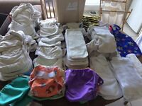 Birth-to-Potty Reusable Nappy Set - All You'll Ever Need! Motherease, Tots Bots, Little Lamb, & More