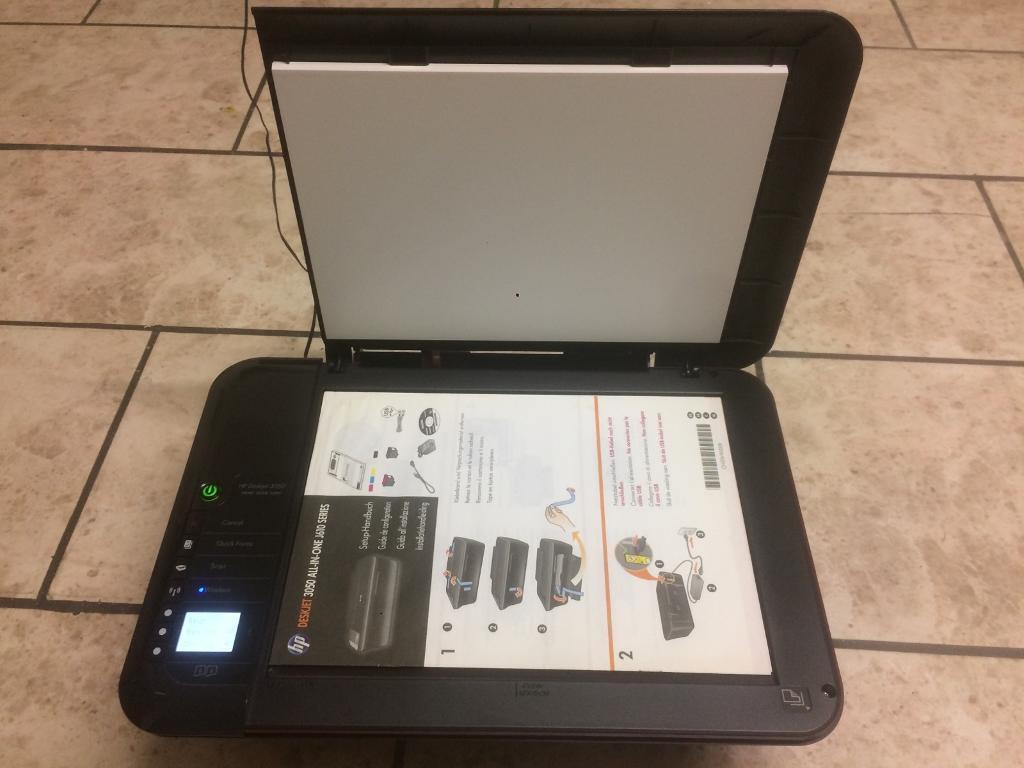 HP desk jet 3050 print scan copy