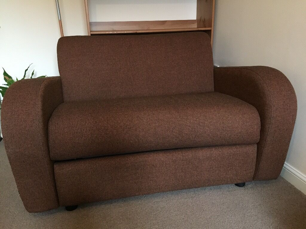 2 Seater Chair Sofa Bed Jay Be Retro Deep Sprung