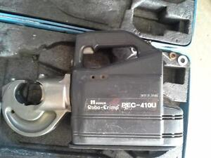 presse hydraulique-serre cable REC-410U huskie tools