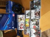play station 3/ 250 GO/ micro casque/9 jeux