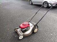 Honda izy self propelled petrol lawnmower