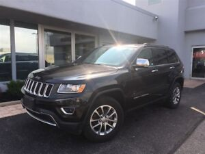2016 Jeep Grand Cherokee Limited LEATHER...SUNROOF
