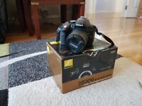 Nikon D5300 DSLR Camera Hardly Used