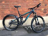 "Trek fuel ex7 2015 17.5"" bike 27.5"" wheels with fox shocks front and rear"