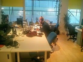 Desk Spaces available NOW in shared creative office in the heart of Bristol