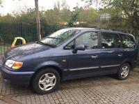 Hyundai Trajet 2004 LPG Auto 7 seater. Captains seats! Spares or repair.Taxed & MOT