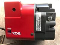 Riello RDB 2.2 Oil Fired Burner in Excellent Condition. 14.3-26.3Kw Output. Fully Overhauled.