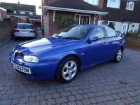 ** 2003 03 REG ALFA ROMEO 156 2.0i TURISMO ** LOW MILEAGE ** DEMO + 1 OWNER FROM NEW ** LEATHER **