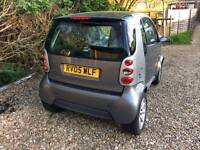 Smart car 05 plate full service history and MOT