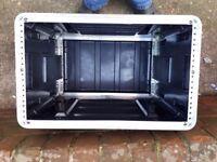 6u ABS Rack Case Flight Case | Equipment Case | DJ Case | Amp Case | PA