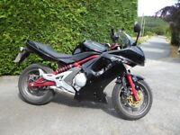 For sale, my Kawasaki ER6F