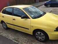 Seat ibiza 04 yellow look!