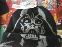 Both Brand new with tags, Disney Star Wars hat and plain black scarf