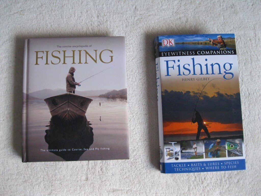 Fishing books x 2